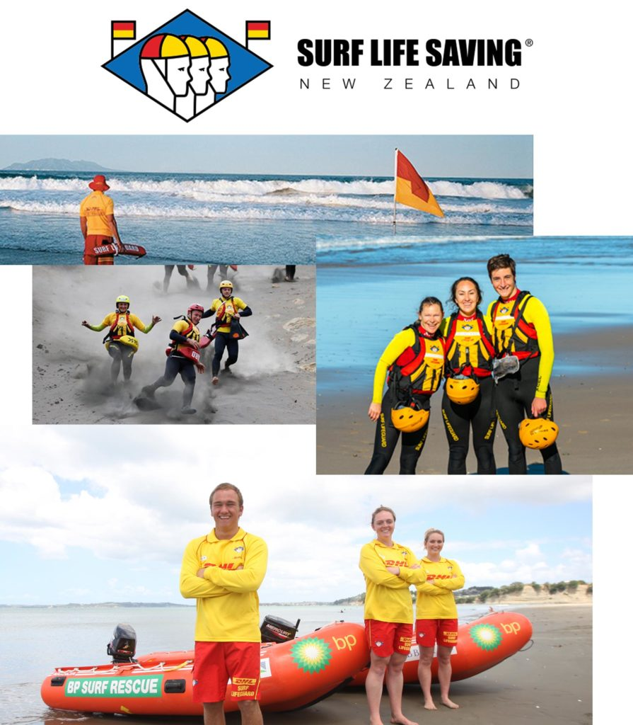 surf life saving new zealand montage